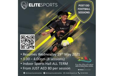 Elite Sports Academy Sessions Resume at Deira International School After Eid Al Fitr